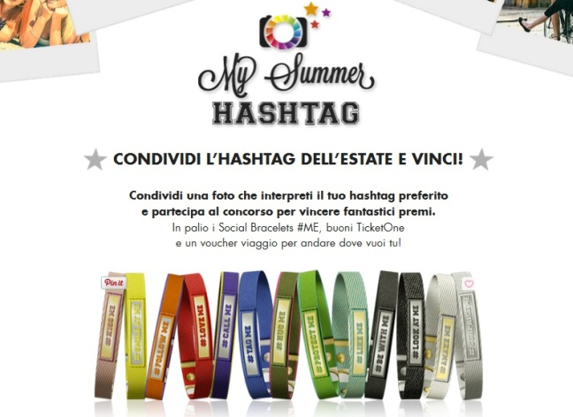 Concorso My Summer Hashtag Nomination