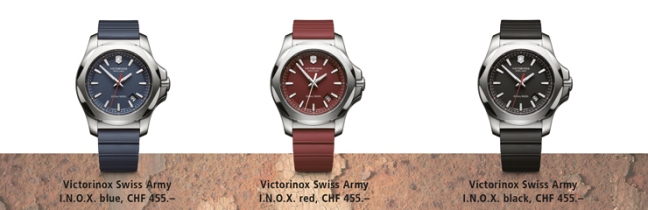%name Vota il packaging Limited Edition e vinci orologi Victorinox Swiss Army I.N.O.X. e tantissime caramelle Ricola!